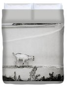 The Surreal Goat Duvet Cover