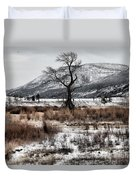 Isolation In Yellowstone Duvet Cover