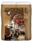 Istanbul Grand Bazaar 09 Duvet Cover