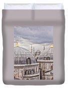 Istanbul Landmarks  Duvet Cover