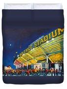 Isu - Jack Trice Stadium Duvet Cover