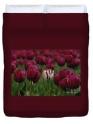 It Is Beautiful Being Different Duvet Cover by Bob Christopher