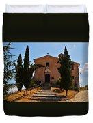 Italian Chapel Duvet Cover