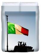 Italian Flag Duvet Cover