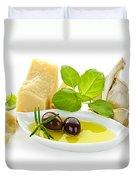 Italian Flavors Duvet Cover