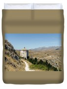 In That Quiet Earth - An Italian Landscape  Duvet Cover