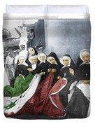 Italian Nuns Duvet Cover