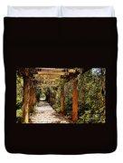Italian Pergola Hallway Duvet Cover
