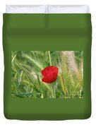 Italian Poppy Duvet Cover