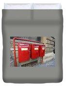 Italian Post Office Boxes Duvet Cover