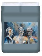Italian Sculptures 03 Duvet Cover