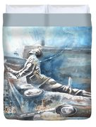 Italian Sculptures 04 Duvet Cover