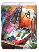 Italian Shoes 01 Duvet Cover
