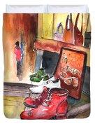 Italian Shoes 05 Duvet Cover