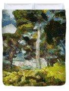 Italian Stone Pine Duvet Cover