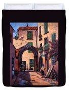 Italian Street Duvet Cover
