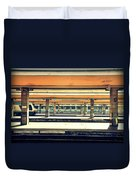 Italian Train Station Duvet Cover