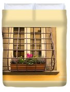 Italian Window Box Duvet Cover