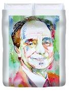 Italo Calvino Duvet Cover