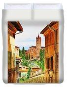 Italy Siena Duvet Cover