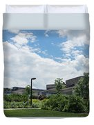 Ithaca College Campus Duvet Cover by Photographic Arts And Design Studio