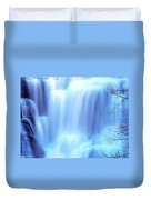 Ithaca Water Falls New York  Duvet Cover