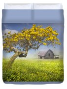 It's A Beautiful Day Duvet Cover by Debra and Dave Vanderlaan