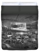 It's A Disposable World  Duvet Cover by Mike McGlothlen