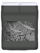 It's A Jungle In There Bw Duvet Cover by Steve Harrington