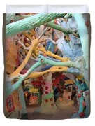 It's A Magical World Duvet Cover by Laurie Search