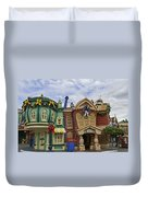 It's A Toontown Christmas Duvet Cover