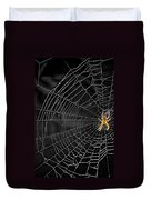 Itsy Bitsy Spider My Ass 3 Duvet Cover by Steve Harrington