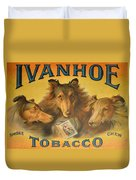 Ivanhoe Tobacco - The American Dream Duvet Cover by Christine Till