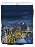 I've Got The Blues In Vancouver Duvet Cover