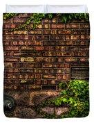 Ivy And Bricks Duvet Cover
