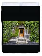 Ivy Covered Doorway - Trinity College Dublin Ireland Duvet Cover