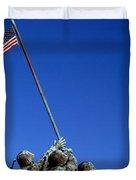 Iwo Jima Memorial At Arlington National Duvet Cover
