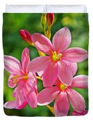 Ixia Flower Duvet Cover
