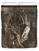 Ixion In Tartarus On The Wheel, 1731 Duvet Cover