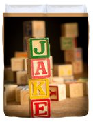 Jake - Alphabet Blocks Duvet Cover