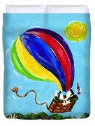 Jack And Charlie Fly Away Duvet Cover
