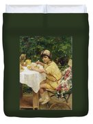 Jack In The Garden Duvet Cover by Giacomo Grosso