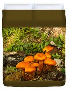 Jack Olantern Mushrooms 22 Duvet Cover