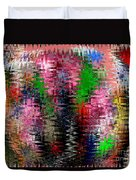 Jacks And Marbles Abstract Duvet Cover