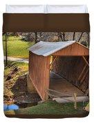 Jacks Creek Historic Bridge Duvet Cover