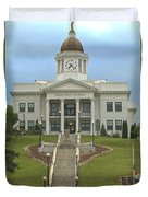 Jackson County Courthouse Duvet Cover