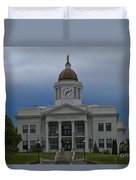 Jackson County Courthouse North Carolina Duvet Cover