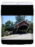 Jackson Covered Bridge Nh Duvet Cover