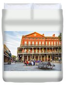 Jackson Square Reading Duvet Cover