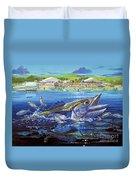 Jacksonville Kingfish Off0088 Duvet Cover